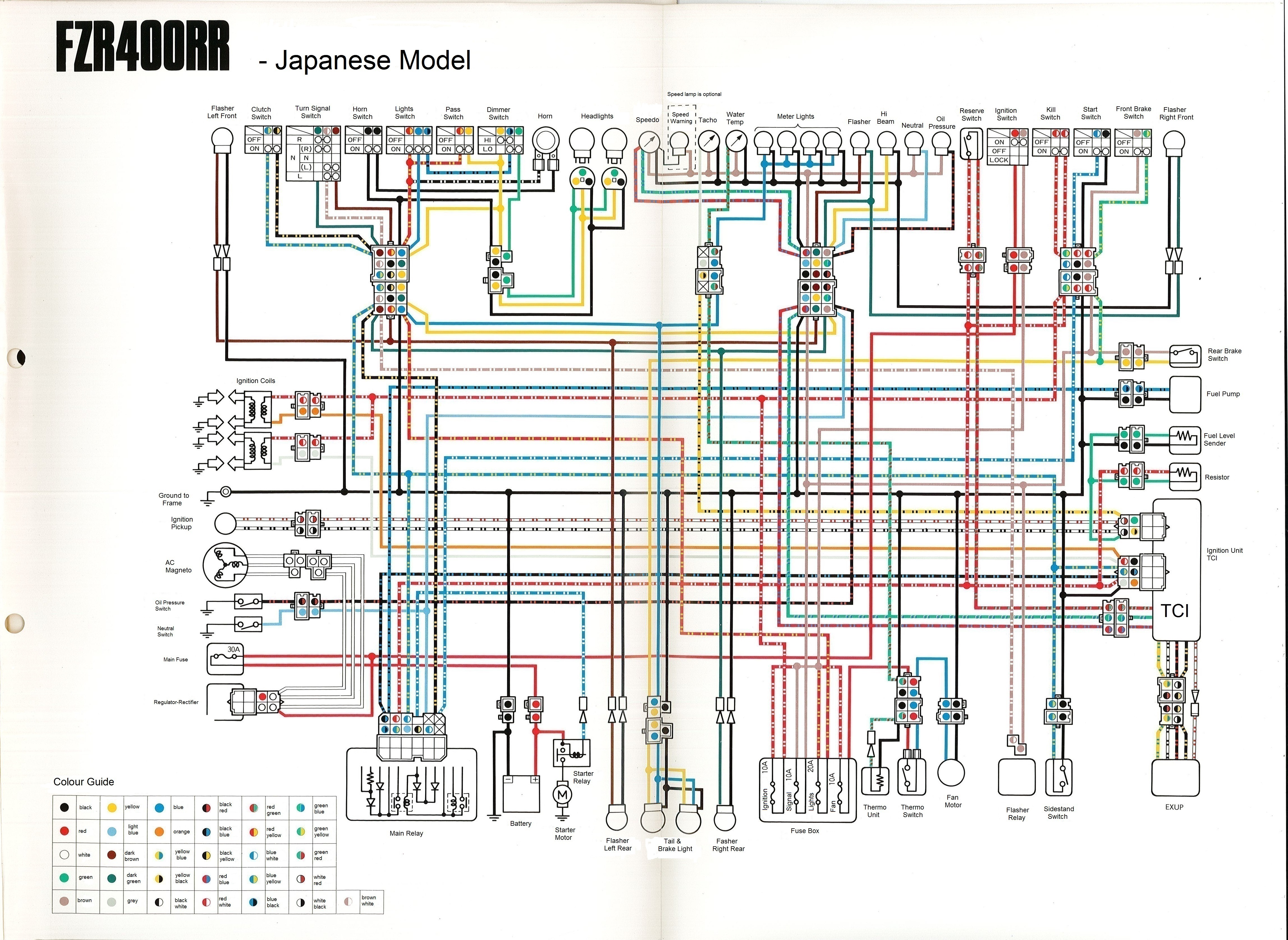 WiringDiagram_Yamaha_FZR400RR_3TJ1_English wiring diagram needed for 1989 yamaha fzr1000 genesis wiring fzr 1000 exup wiring diagram at bayanpartner.co